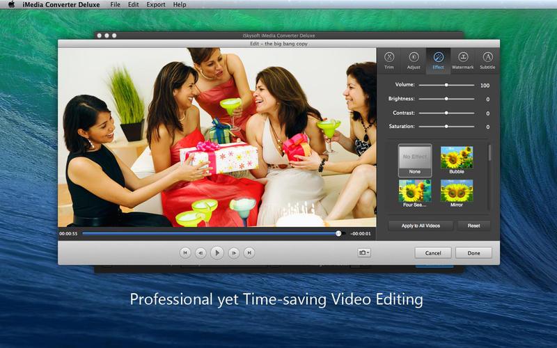 iSkysoft iMedia Converter Deluxe Screenshot - 2