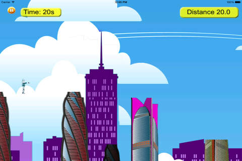 Steel Swing - City Rope Swing screenshot 4