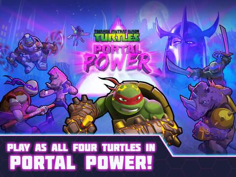 Teenage Mutant Ninja Turtles: Portal Power Screenshots