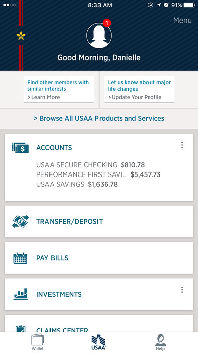 USAA - Insurance Banking Investments Retirement Advice on the App ...