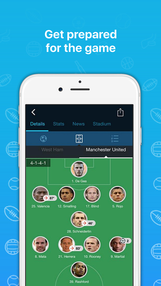 365Scores - Sports Results, Transfers, News & Scores Live Screenshots