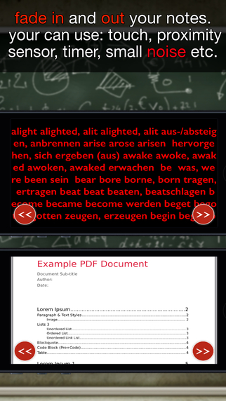iSpicker - fade in and out your notes (PRO) Screenshots