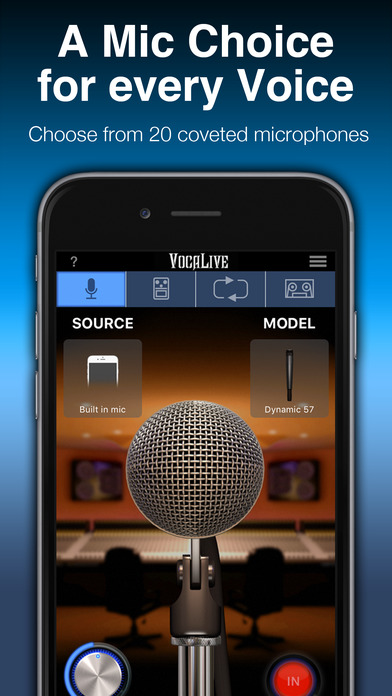 VocaLive iPhone Screenshot 1