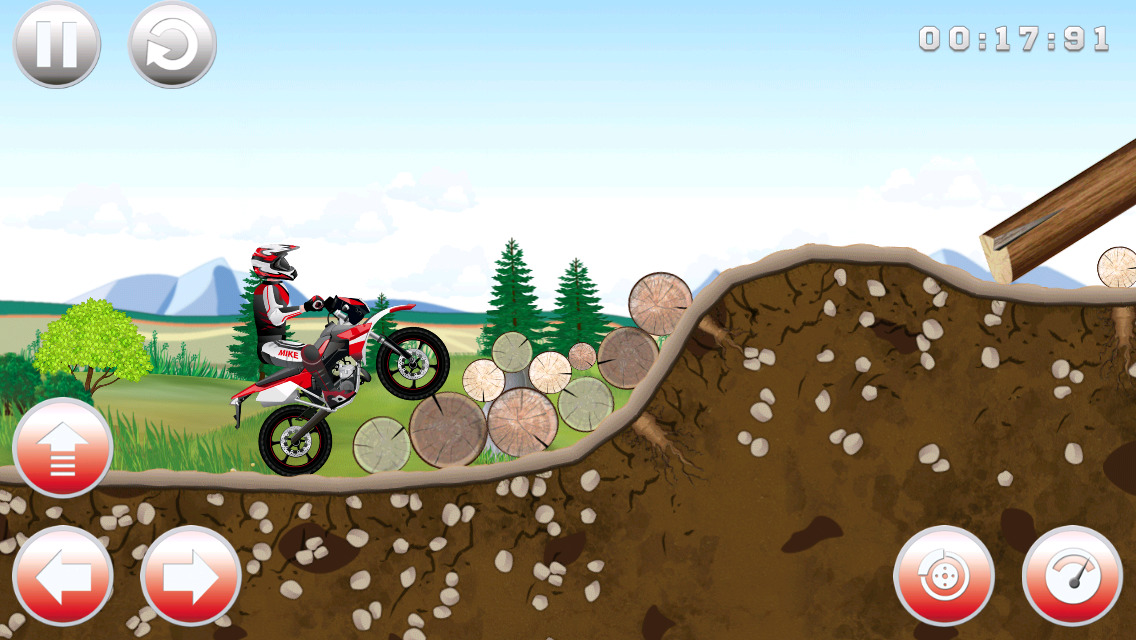 free rider addicting games