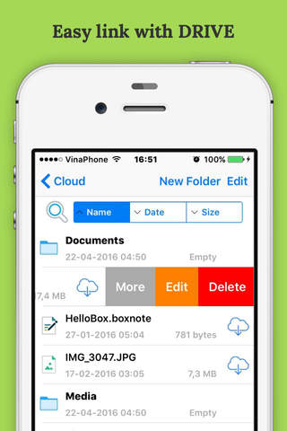 Filza File Manager:  MP3, Video Player - File Transfer for Dropbox & BOX Drive screenshot 1
