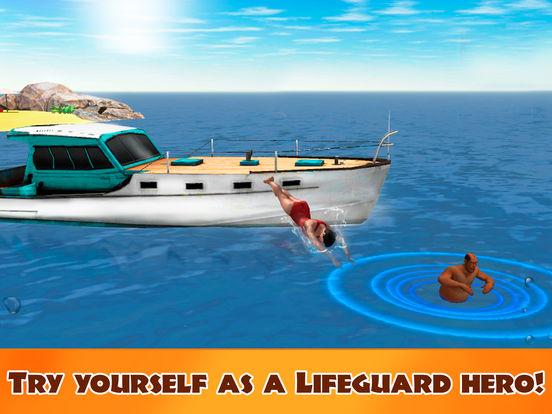 Beach Lifeguard Emergency Rescue 3D Full screenshot 5