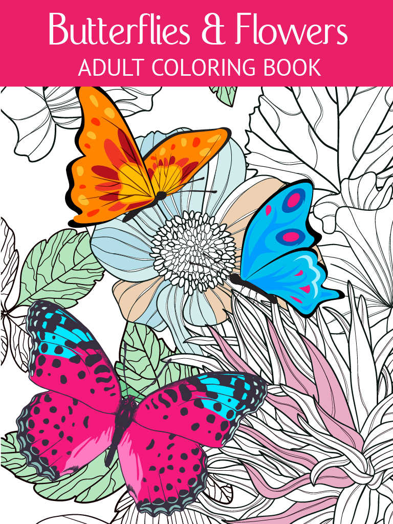 Butterfly Amp Flower Art Therapy Free Fun Coloring Games