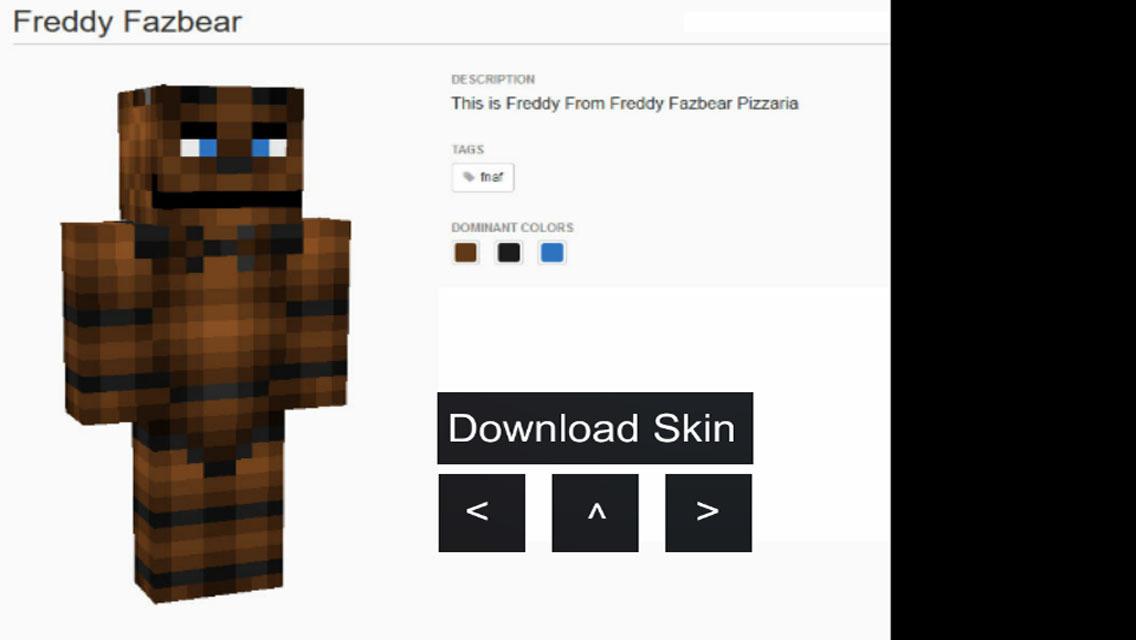 App shopper skin fnaf for minecraft games