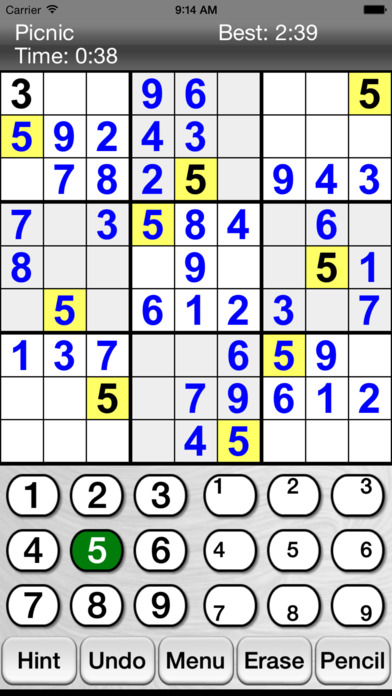 :) Sudoku + screenshot 1