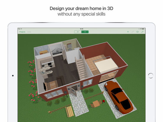 planner 5d home interior design screenshot - Home Interior Apps