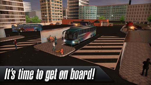 Coach Bus Simulator Screenshot
