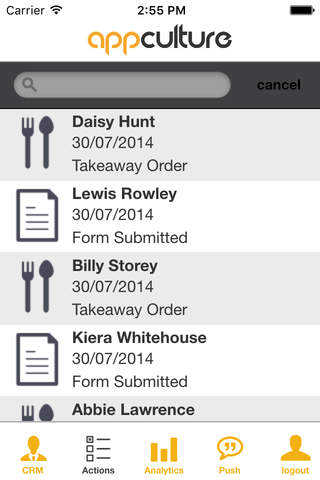 App Culture CRM screenshot 3