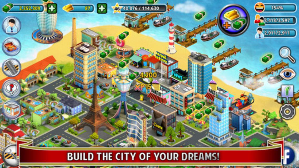 Triche Sim City Buildit