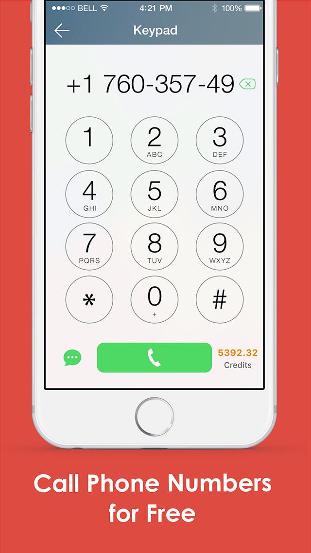 Google Voice Phone by Mo plus screenshot 2