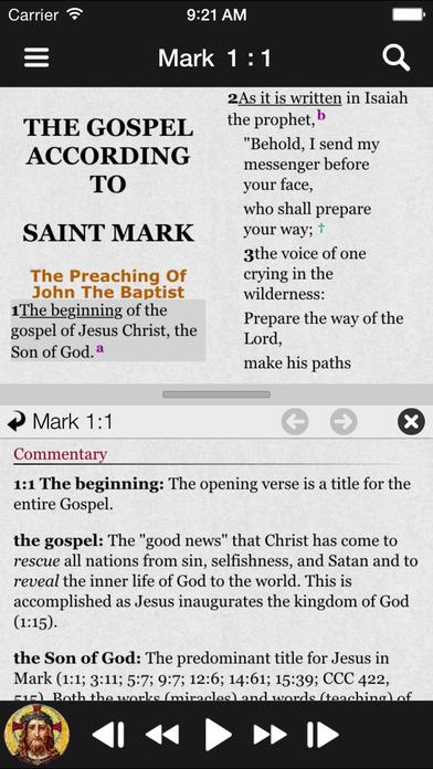 Truth & Life Dramatized Audio Bible™ - Mark iPhone Screenshot 2