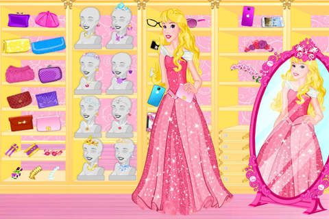 Blonde Princess Prom Shopping——Beauty Fantasy Salon/Cute Girls Make Up screenshot 3