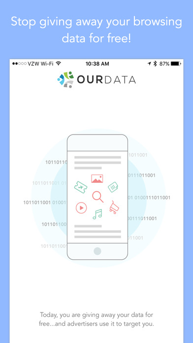 Ourdata screenshot