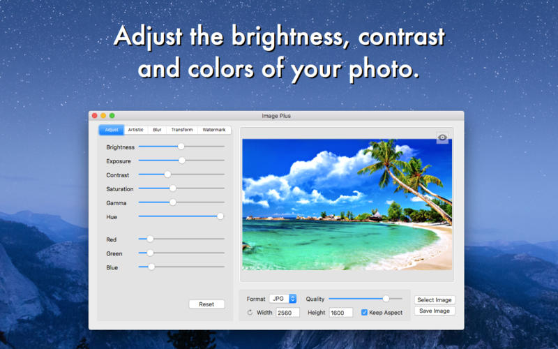 Image Plus - Powerful Photo Editor and Converter Apps for iPhone/iPad screenshot