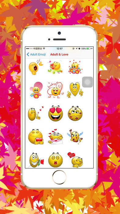 Adult Emoji - Sexy love flirty romantic icon keyboard Screenshots