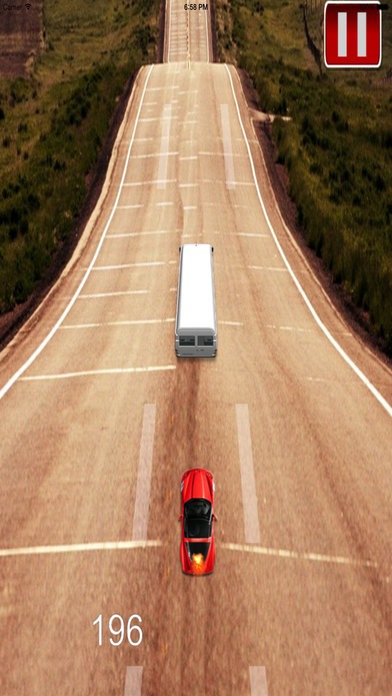 A Delivery Car Roads - Racing Hovercar Game Screenshot