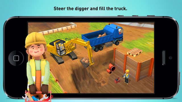 Little Builders - Truck, Crane & Digger for Kids Screenshots