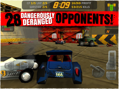 Deadly Driving Game Carmageddon For iOS Has First Free Sale In A Year