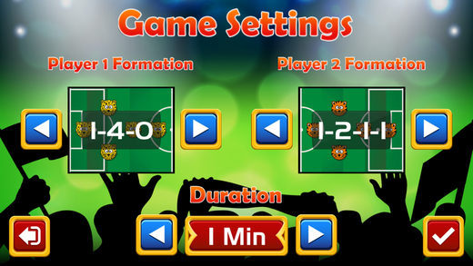Air Football 2016 - Turn Based Multiplayer Soccer Screenshot