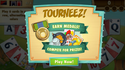 Screenshots of Fairway Solitaire Blast for iPhone