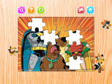 Мультфильм Головоломка - Головоломка Загадки Коробка для Скуби-Ду - Дети Малыш и дошкольного обучения игры Скриншоты3