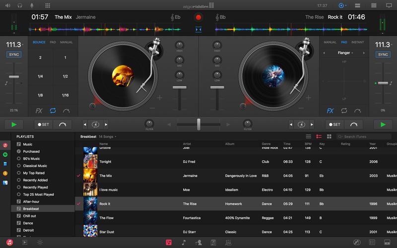 Algoriddim djay Pro Mac 破解版 专业的DJ媒体播放软件-麦氪派