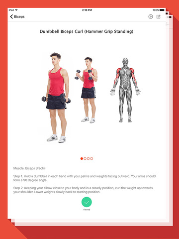 Fitness and Bodybuilding - Exercises, Workouts Screenshots