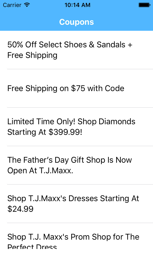 Tj maxx discount coupons