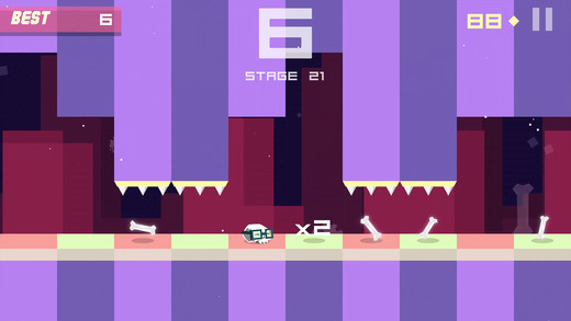 Bonecrusher: Free Awesome Endless Skull & Bone Game Screenshot