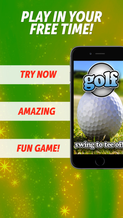Free Golf and Golfing fun! iPhone Screenshot 1