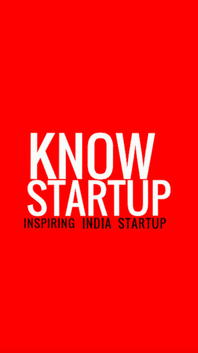 KnowStartup - Startup India Screenshot