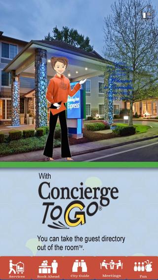 Screenshots for Concierge To Go