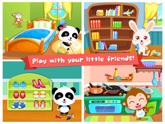 My Baby Gets Organized - Educational Game for Children Screenshots