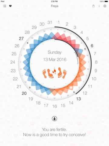 Complete menstrual calendar for modern women - Freya Image