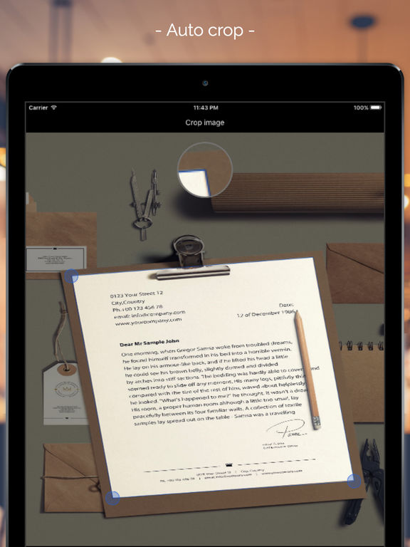 Scanbox - Document & print scanner Screenshots