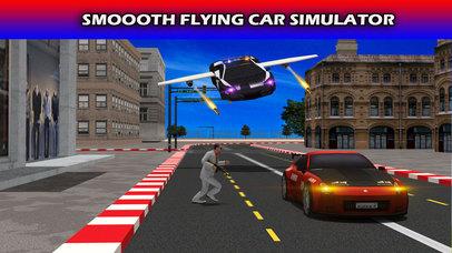 Flying Future Police Cars Pro screenshot 1