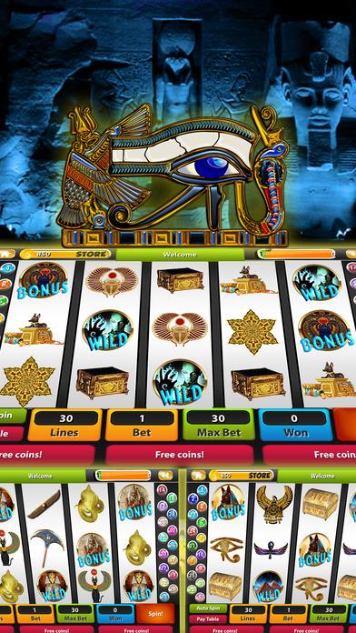 Lost Book of Horus & Ra Desert Nights Slots - Pharoah's Way Pokies God of Egypt-0