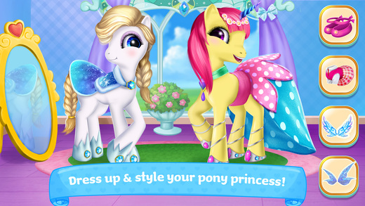Pony Princess Academy - Dress Up, Style, Feed & Care for Ponies Game