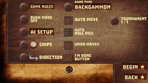 acey deucey backgammon for ipad