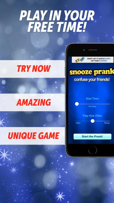 Snooze Prank iPhone Screenshot 1