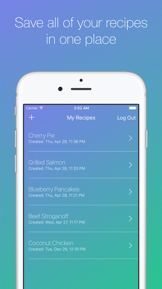 RecipeReadr - Your Recipes Read Aloud To You While You Cook Screenshots