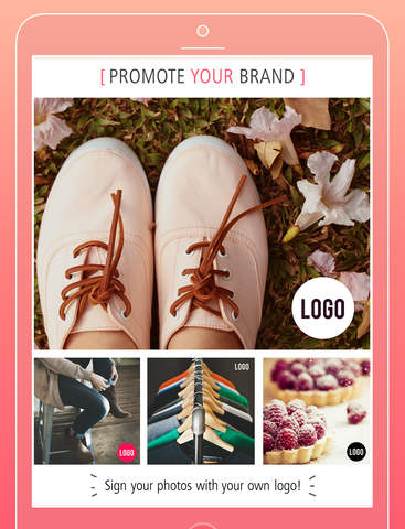 Typic - Beautiful captions and designs over your photos Screenshots