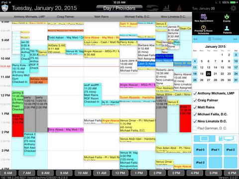 CT Scheduler Mobile 6.3 screenshot 2