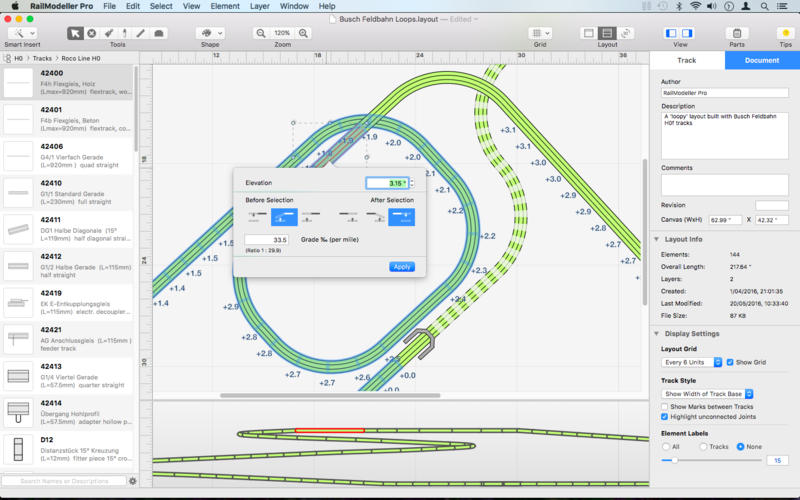 RailModeller Pro 5.1: Introducing tunnel sections and layer defaults Image