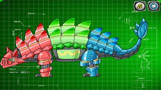 Screenshot 3 恐龙世界铁甲骑士-小游戏大全