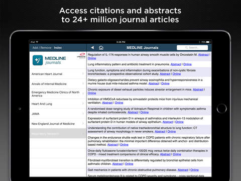 Evidence Central iPad Screenshot 5